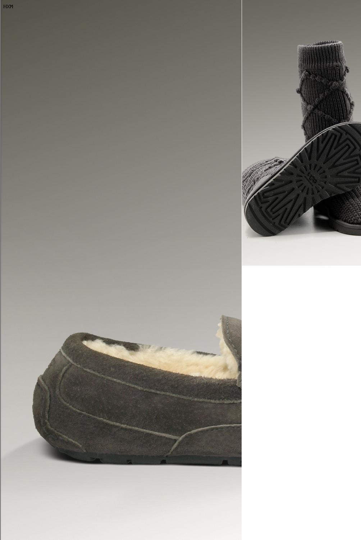 botas tipo ugg moradas
