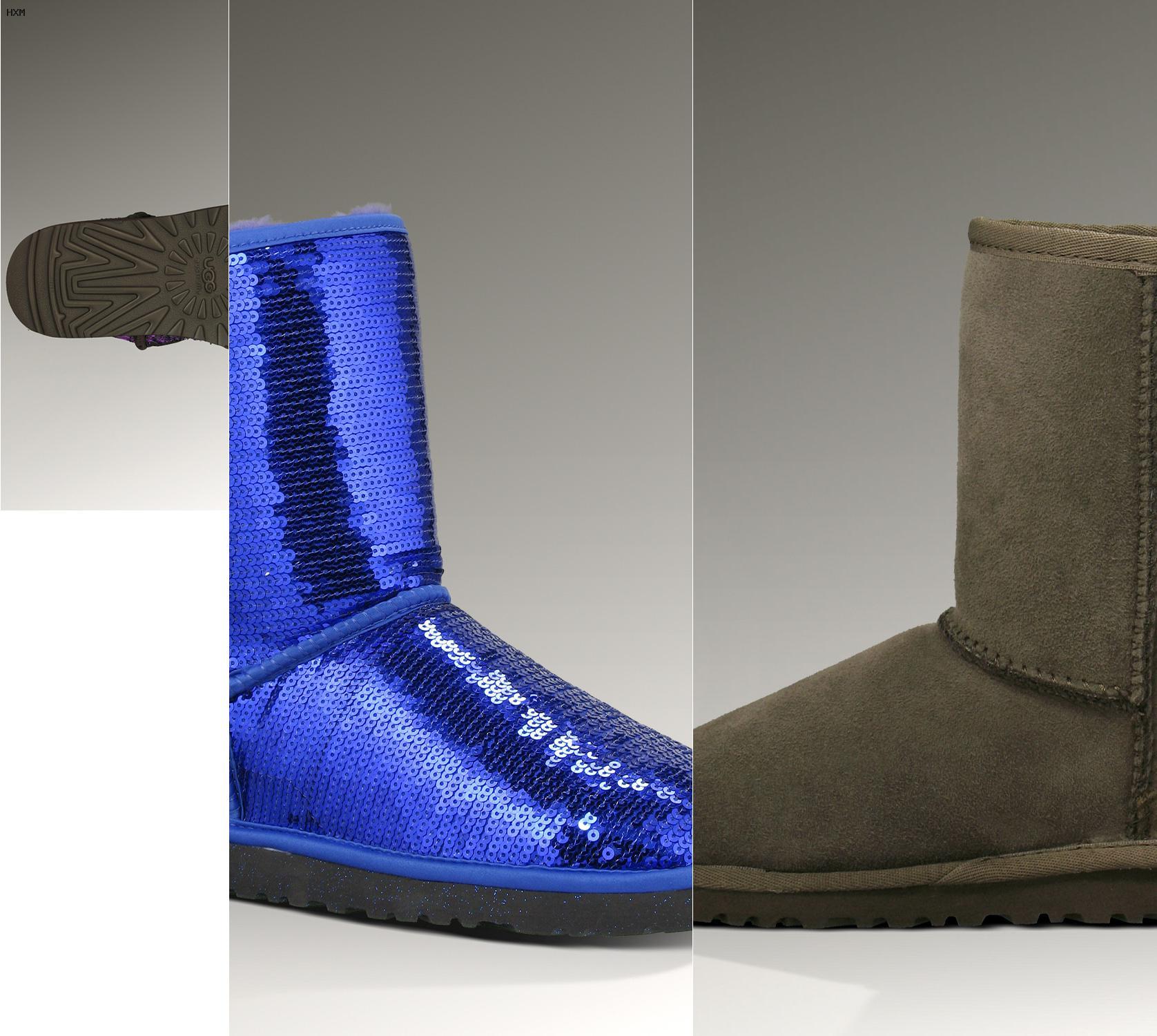 estilos de botas ugg